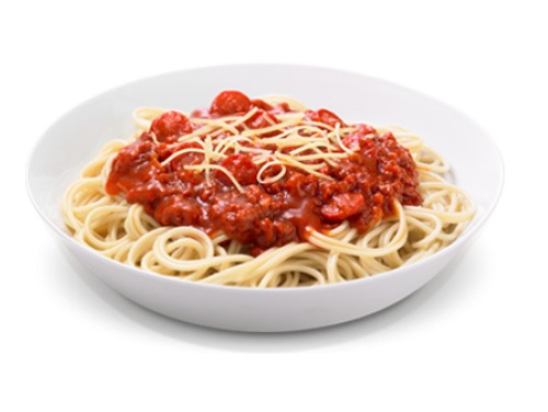 SPAGHETTI FROM THE HOUSE